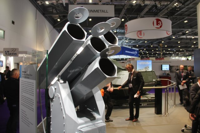 Rheinmetall's high-energy laser effectors at land and at sea - a HEL-light of DSEI 2015. Highly precise, scalable in effect, versatile in tactical situations, ready for deployment on land and at sea - high energy laser effectors will play a major role in future armament concepts.