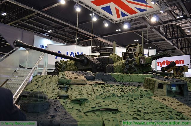 Rheinmetall to manufacture turret structure of AJAX reconnaissance fighting vehicle for British army 640 001
