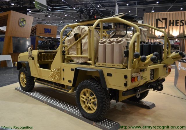 Supacat proposes evolved LRV design at DSEI theLRV400 Mk2 light reconnaissance vehicle 640 002