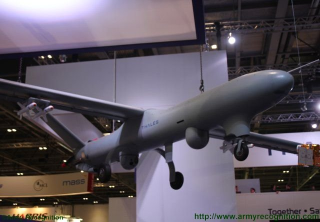 Thales new modular Watchkeeper X UAS makes debuts at DSEI 2015 640 001