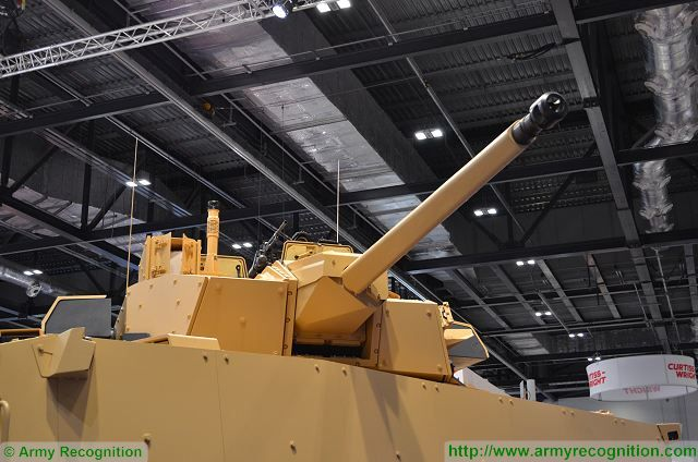 French Company Nexter Systems introduces a new version of its world famous combat proven VBCI 8x8 armoured infantry fighting vehicle, the VBCI 2 at DSEI 2015, the International Defense Exhibition in London, UK. The VBCI 2 is presented at DSEI 2015 in its Infantry Fighting Vehicle (IFV) version fitted with the latest development step of the 40mm CTA turret.