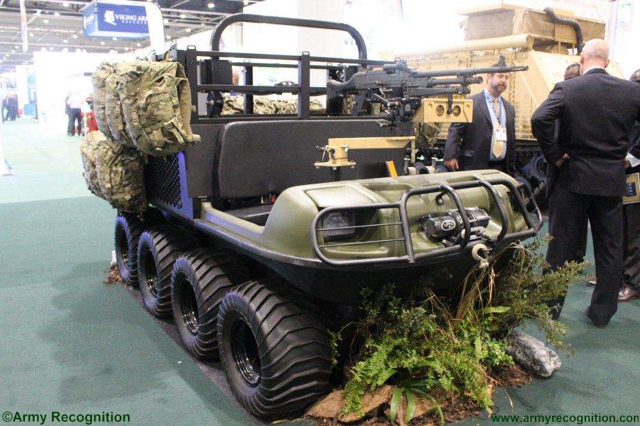 Hippo X showcased at DSEI 2017