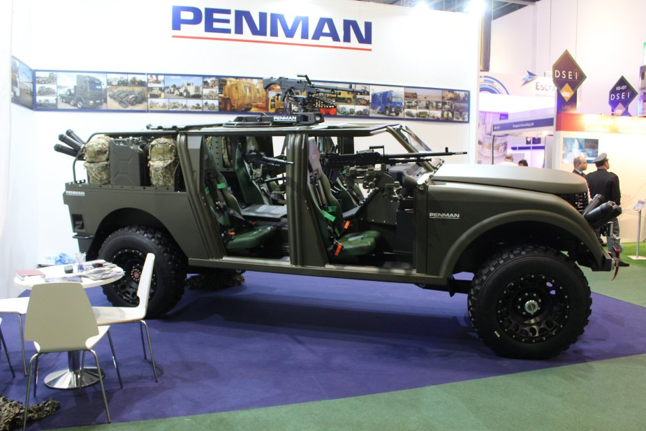 New Vehicles 2017 >> Penman Unveils A Range Of New Multirole Vehicles At Dsei