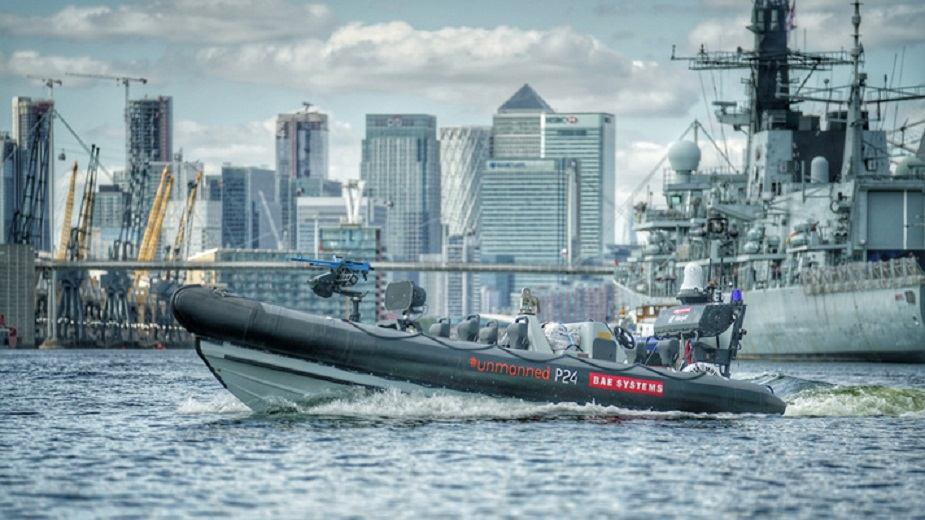 DSEI 2019 BAE Systems demonstrates first integration of Unmanned Surface Vessel with Royal Navy warship