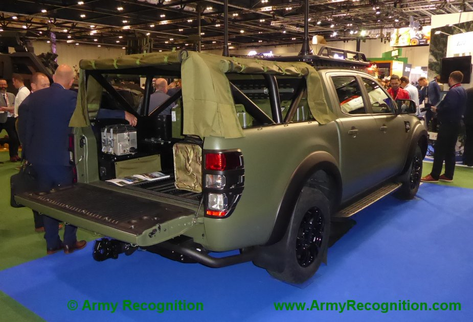 Ricardo displays Ford Ranger General Service Vehicle 2