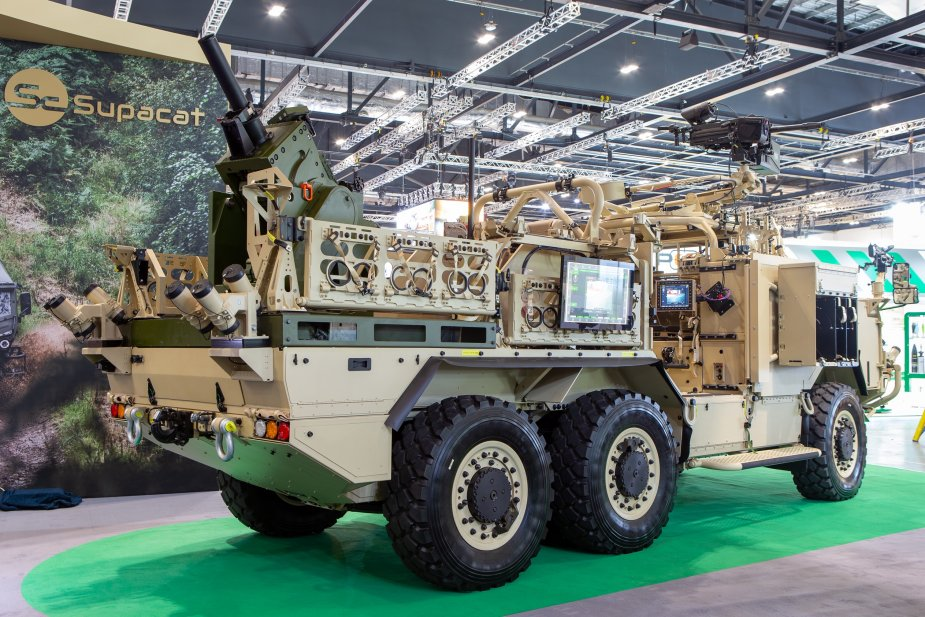 Supacat Rheinmetall and SCISYS partnership showcases new High Mobility Integrated Fires Capability
