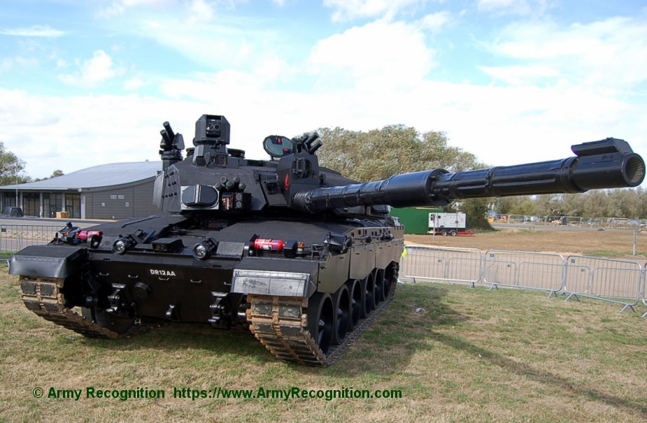 DVD 2018 BAE Systems displays Challenger 2 LEP nicknamed Black Knight