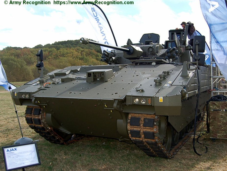 DVD 2018 Lockheed Martin delivers first production turrets to British Army Ajax