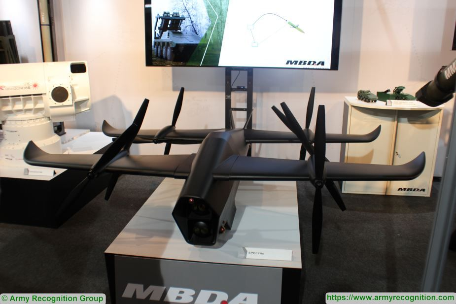 DVD 2018: MBDA unveils its new VTOL UAV called the Spectre | DVD