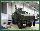 The Belgian subsidiary of Thales Group presents its expertise at IAV 2012 with the integration of communication and surveillance systems for the battlefield on an armored Dingo 2 Protected Reconnaissance Vehicle (PRV) of the Army of Luxembourg.