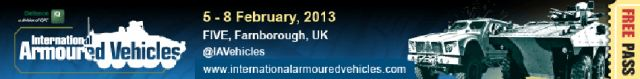 IAV 2013 International Armoured Vehicles show daily news coverage report exhibition conference actualités exhibitors visitors program information Farnborough United Kingdom Salon International des véhicules blindés