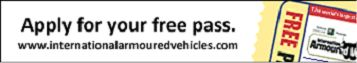 Applt for free exhibition pass IAV 2013 International Armoured Vehicles