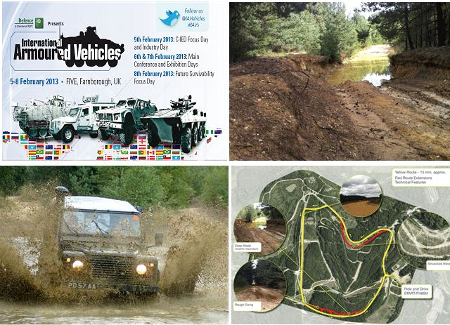 International Armoured Vehicles, the largest show dedicated solely to the armoured vehicles community, has just announced that they are launching a live dynamic vehicle experience at the Long Valley Test Track during the 2013 event, which takes place at the FIVE in Farnborough, UK.