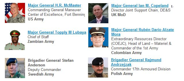 Major General Andrew Sharpe (UK MoD), Lieutenant General David Halverson (US Army) and Brigadier General Stefan Andersson (Swedish Army) are amongst the 50+ senior speakers from 34 countries scheduled to lead sessions during the 2-day main conference…