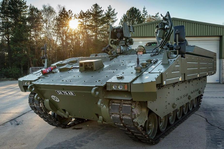 ARES AJAX tracked APC armored personnel carrier General Dynamics UK British Army 925 001