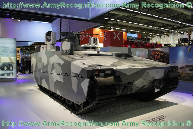 Armadillo CV90 tracked armoured combat vehicle BAE Systems United Kingdom British 640 003