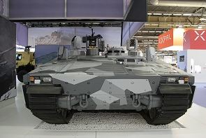 Armadillo CV90 BAE Systems armoured combat vehicle data sheet description information specifications intelligence identification pictures photos images British United Kingdom military equipment infantry