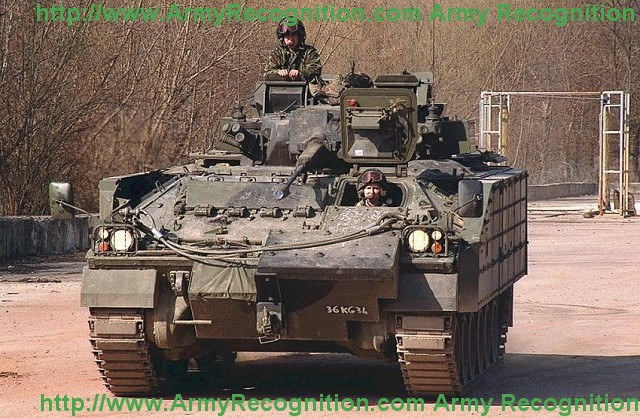 Warrior MCV 80 FV510 Tracked Armoured Armored Fighting