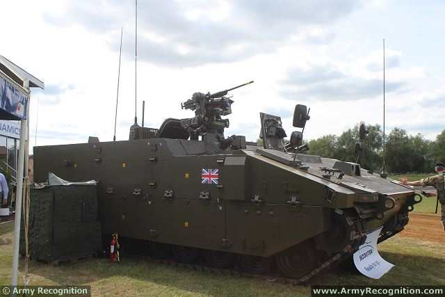 Scout SV PMRS Protected Mobility Recce Support tracked armoured vehicle General Dynamics British Army 640 001