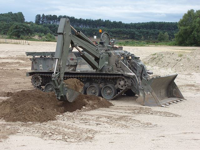 The British Army Receives Its First Bae Systems Terrier