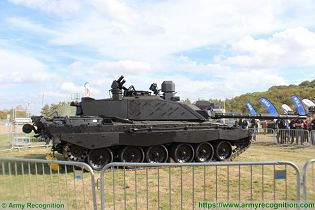 Black Night Challenger 2 MBT Main Battle Tank British United Kingdom army LEP program right side view 001