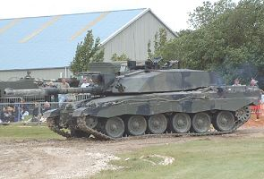 Challenger 2 main battle tank technical data sheet description information specifications intelligence identification pictures photos images British United Kingdom army