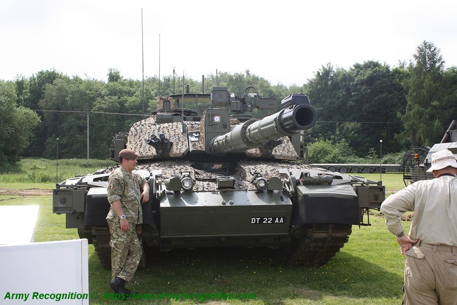 Challenger 2 TES MBT Megatron main battle tank United Kingdom British Army defense industry 925 001