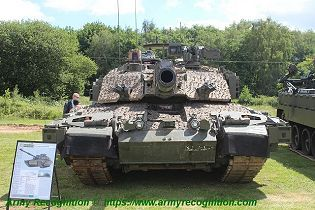 Challenger 2 TES MBT Megatron main battle tank United Kingdom British Army defense industry front view 001