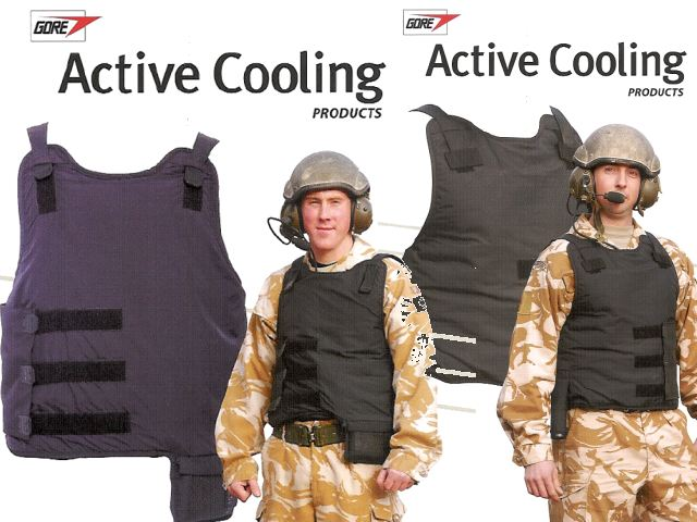 Active cooling vest military crew armoured vehicles tanks Gore technical data sheet description information intelligence pictures photos images United Kingdom British W.L. Gore Associates