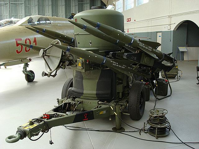 Rapier Low Level Ground Surface To Air Missile Technical