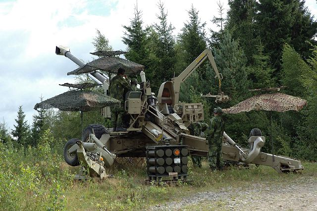 FH77 B05 L52 towed howitzer BAE Systems data sheet description information intelligence identification pictures photos images United Kingdom British.