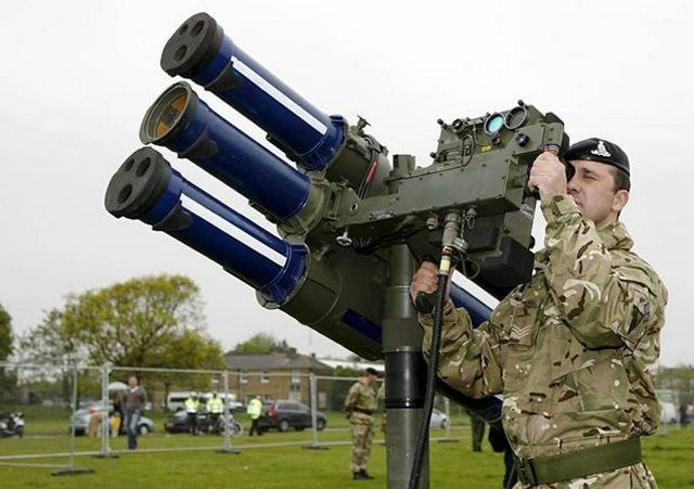 Starstreak Hvm Short Range Surface To Air Missile Manpads British