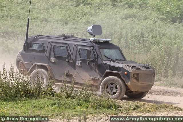Cobra 4x4 Apc Streit Group Armored Vehicle Personnel Carrier