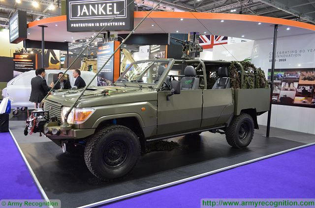 FOX RRV Rapid Response Vehicle Jankel United Kingdom British military equipment defense industry 640 001