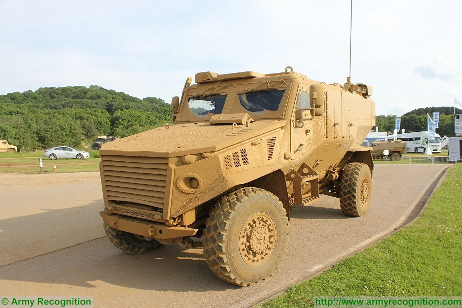 Foxhound LPPV Light Protected Patrol Vehicle United Kingdom British army 925 001