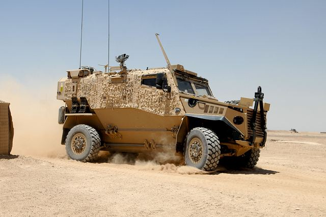 Foxhound Lppv Light Protected Patrol Vehicle Technical
