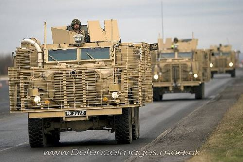 Mine and IED Resistant Vehicles - Think Defence