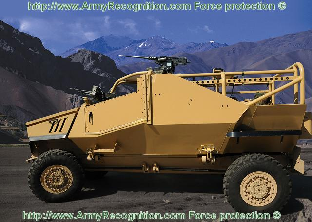 Modular Exhibition Stand Year : Force protection unveils ocelot vehicle weapons pod