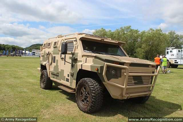 Puma Streit Group 4x4 APC armoured vehicle personnel carrier