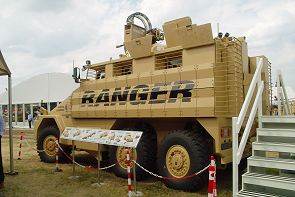 Ranger Universal Engineering high protected patrol vehicle data sheet description information intelligence identification pictures photos images UK Limited