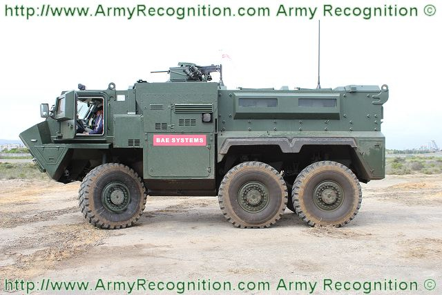 Rg35 6x6 Bae Systems Protected Multi Purpose Fighting