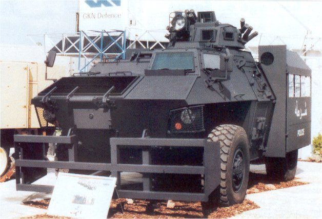 Simba gkn defence alvis wheeled armoured vehicle personnel