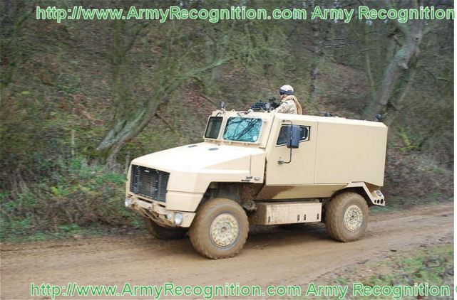 SPV 400 SPV400 Supacat light protected wheeled vehicle data sheet description information intelligence identification pictures photos images United Kingdom british