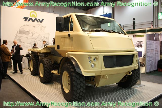 TMVLimited 6x6M high mobility military wheeled transport ...