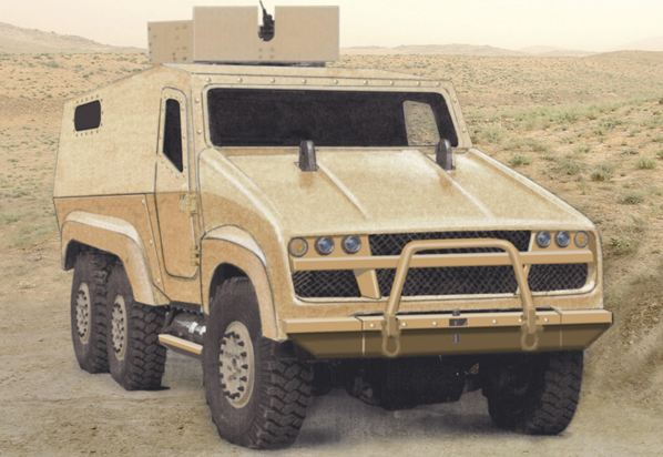 Creation UK Limited presents at IAV 2011 the new 6x6 Zephyr
