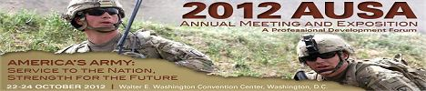 AUSA 2012 news coverage report show daily Annual meeting exposition conference exhibition Association United States Army October Washington D.C. military
