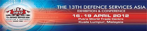 DSA 2012 Defence Exhibition Services Asia show daily news pictures video exhibition conference actualités exhibitors visitors program information Malaysia Kuala Lumpur 16 to 19 April 2012