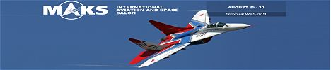 MAKS 2015 International Aviation and Sopace salon Moscow Russia