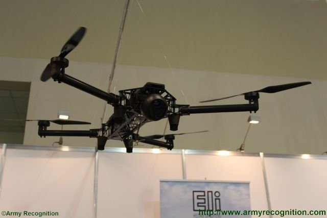 Eli Airborne Solutions highlights ELIX XL quadrotor VTOL UAS at ADEX 2016 640 001