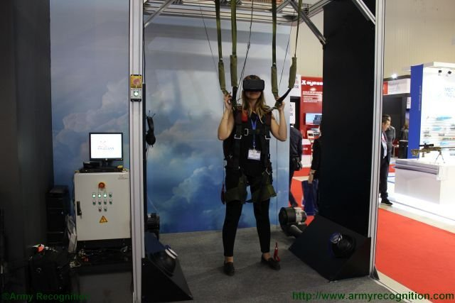 Havelsan introduces new parachute simulator system in Azerbaijan 640 001